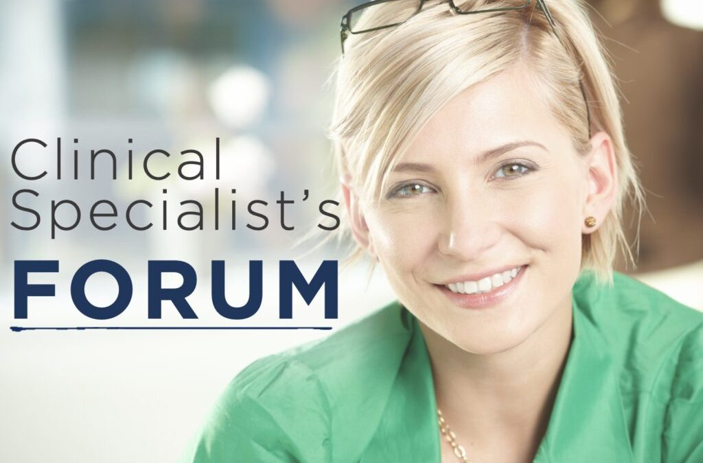 Clinical Specialist Forum: Dealing with Difficult Customers